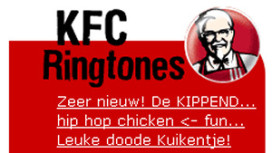KFC start opvallende ringtone-actie