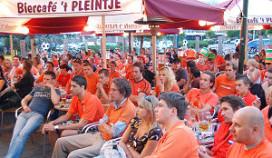 Omzet verdubbeld tijdens Oranjewedstrijd