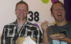 Cateringhulp voor radio-dj Evers