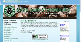 Online petitie moet Starbucks redden