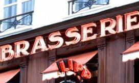 Harde tik op neus Franse restaurants