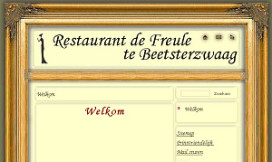 Restaurant De Freule leeggehaald