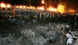 Bomaanslag verwoest Marriott Islamabad