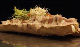 Broodje Borsato in stadsbrasserie