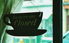 Cafés dicht tegen rookverbod
