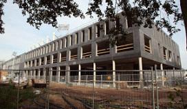 Problemen bij bouw stadionhotel Zwolle