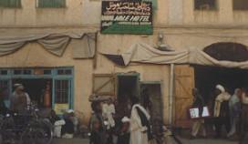 Gewonden door granaten in hotel Tarin Kowt