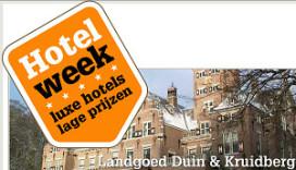 Actieweek met lage prijzen voor luxe hotels