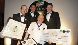 Simon Hulstone is 'Knorr Chef of the Year 2008