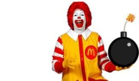 Bommelding McDonald's Rotterdam