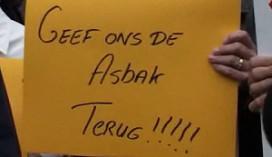 Rookdemonstratie in Groningen