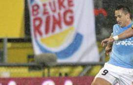Centrale rol Burger King op voetbalspandoek