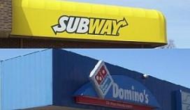 Subway en Domino's sterkste Europese groeiers