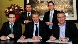 Contract verbouwing Holtmühle getekend