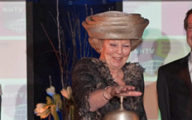 Koningin opent vernieuwde locatie NHTV