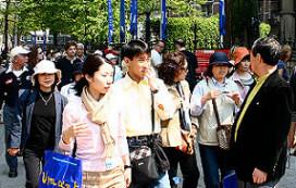 Aandacht voor overvallen Chinese toerist