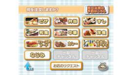 Eten bestellen met Wii Nintendo