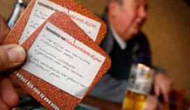 Gemeente deelt 30.000 bierviltjes uit