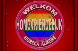 Homosticker horeca Almere valt slecht