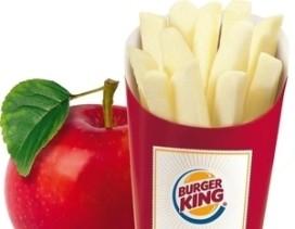 Burger King verkoopt appelfriet