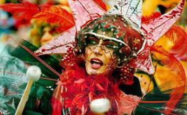 Rookinspecteurs verkleed tijdens carnaval