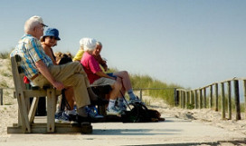 Vijftigplussers op vakantie ondanks crisis