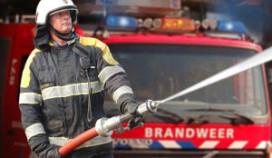 Grote brand in binnenstad Elburg