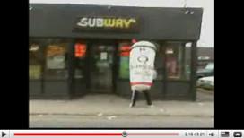 YouTube-battle Subway en Quiznos