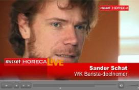 Oefensessies WK Barista-deelnemer Schat