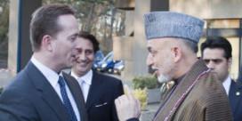 Afghaanse president dankt Crowne Plaza voor erwtensoep