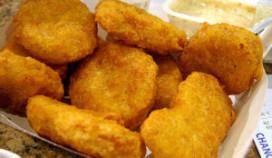 Snelste ter wereld op dieet van kipnuggets