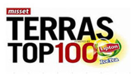 Kanshebbers Terras Top-100 bekend