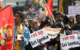 Demonstrerende Tamils plaag voor horeca
