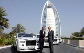 Burj al Arab koopt vier nieuwe Roll Royces