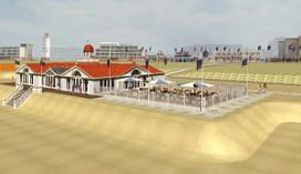 Permanente strandtent voor Hotels van Oranje