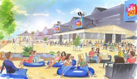 Jaarbeurs mikt met eigen strand op zakenlui