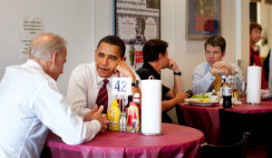 Amerikaanse horecakoepel bedankt president Obama