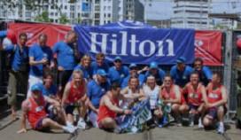 Hilton sponsort grootste estafette