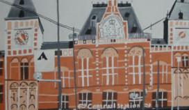 'Amsterdam' geëxposeerd in Hotel Pulitzer