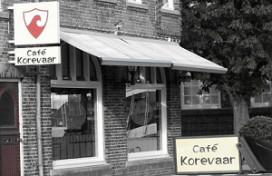 Kerkdienst in Sliedrechts café