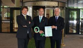 Okura Amsterdam krijgt duurzaamheidsprijs