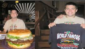 Megagrote hamburgers als gastentrekker