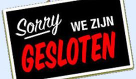 Café 't Steegje blijft dicht