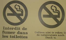 Geen algeheel rookverbod in Belgische cafés