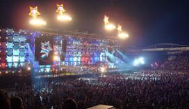 Bonheur catert eerste concert Willem II-stadion