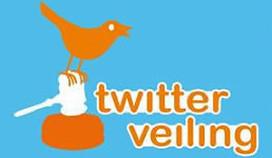 Horeca van de partij op Twitterveiling