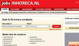Verder afname online vacatures horeca