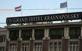 NH Krasnapolsky levert geen hotelster in