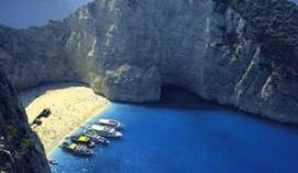 Toeristen geëvacueerd van Grieks strand