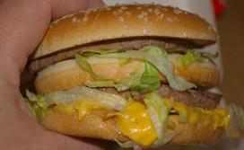 Big Mac op menu kinderziekenhuis